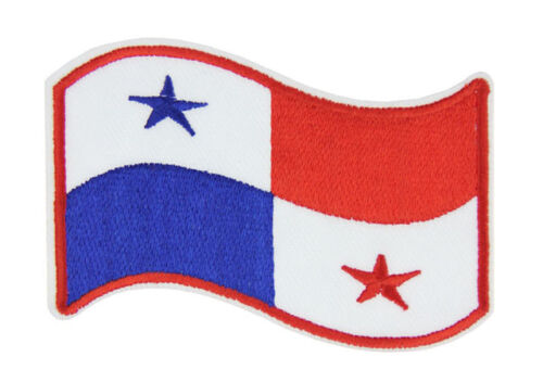 Panama National Flag Emblem Embroidered Patch Sew Iron Panamanian Badge Applique