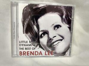 Rare-The-Best-Of-Brenda-Lee-Little-Miss-Dynamite-2005-HHO-Ltd-cd5938