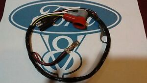 yellow 66 mustang wiring harness wire voltage regulator to alternator wiring harness 66 ford ... #13