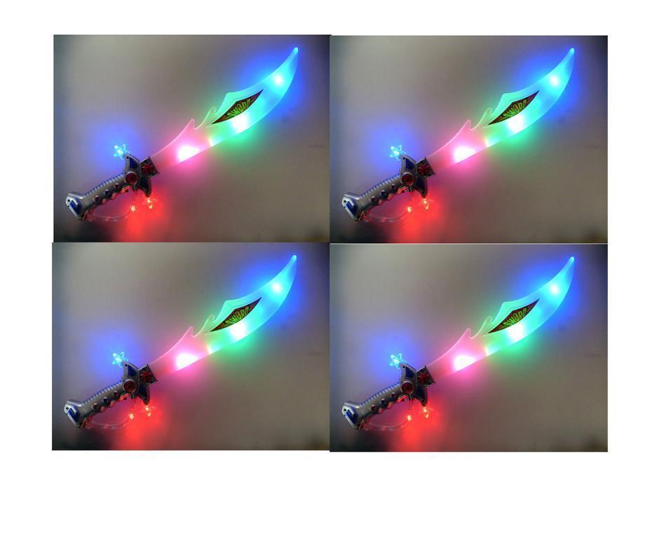 4 Lichtschwerter    Lichtsäbel    mit Klingensound   Länge  57cm 3f974b