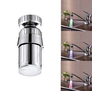 Led Wasserhahn Beleuchtung Temperatur Badezimmer Kuche Deko Duse