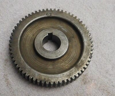 BARBER COLMAN #3  GEAR HOBBER   CHANGE GEAR     62 TEETH
