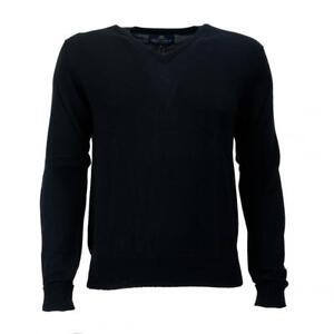 da Scott uomo Scotland in Maglione scollo scozzese merino 100 Peter lana In con lana V a Made HqxqRIOX