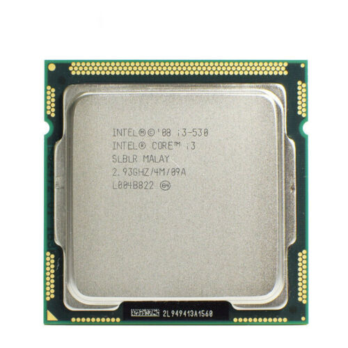 Intel Core i3-530 2.93 GHz 4MB Dual Core LGA 1156 Processor Socket T CPU @MY
