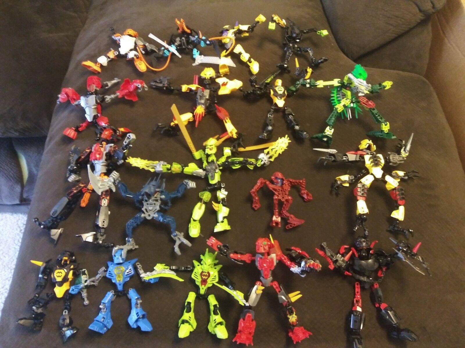 Gran Lote De Lego Bionicle Guerreros y más