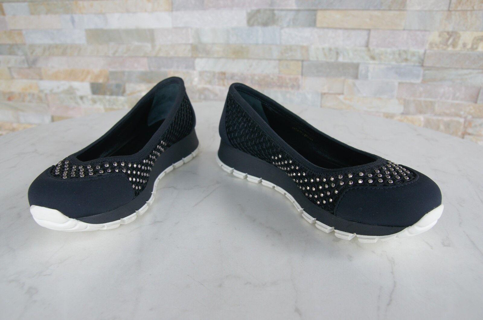 PRADA Gr 37 Ballerinas Slipper Schuhe Schuhe Schuhe BEE 3F6158  schwarz NEU ehem.   695f4e