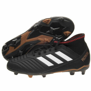 buy online 98518 e2aed Image is loading Football-boots-adidas-predator-18-3-FG-Black-