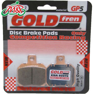 Ducati-Hypermotard-1100-2008-Goldfren-Rear-GP-5-Disc-Brake-Pads