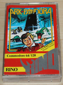 Rino-Ark-Pandora-Kassette-Tape-Commodore-64-C64-funktioniert