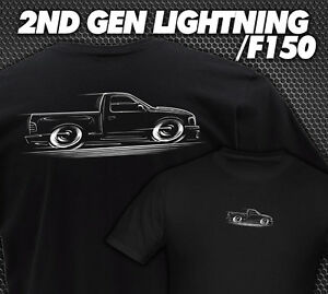f 150 truck and lightning t shirt svt 1999 2000 2001 2002 2003 2004