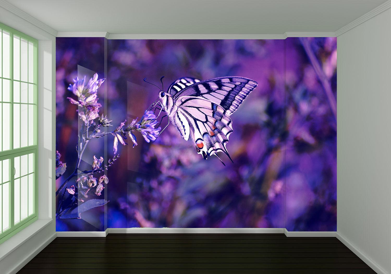 3D Lila Schmetterling Blaumen 8 8 8 Tapete Wandgemälde Tapete Tapeten Bild Familie DE | Erlesene Materialien  | Outlet Store Online  |  7577f4