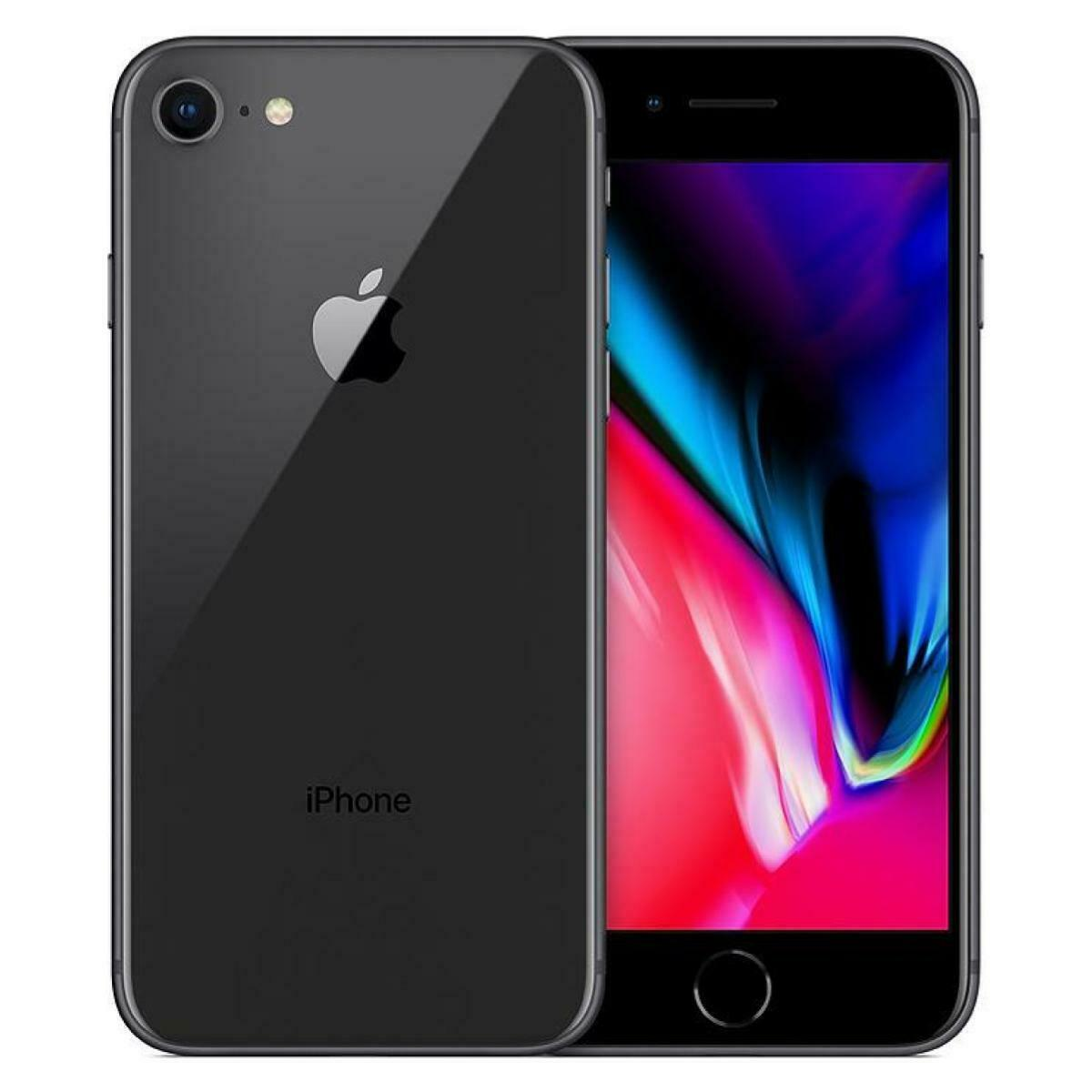Apple iPhone 8 64GB GSM Unlocked AT&T T-Mobile Gray Smartphone