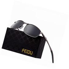 b336dcb8b89 FEIDU Polarized Sport Mens Sunglasses HD Lens Metal Frame Driving Shades FD  9005 705353385025
