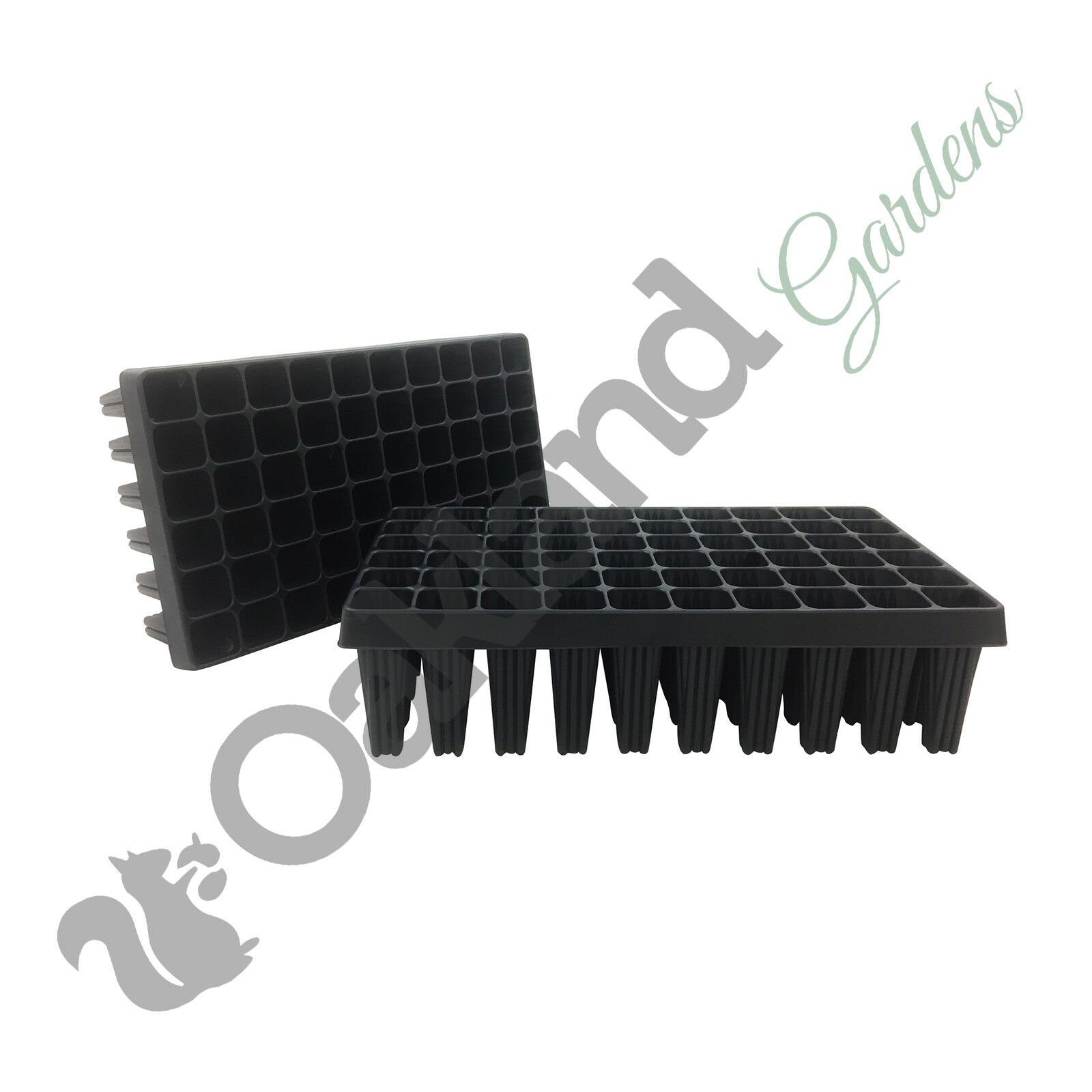 2 x 60 Cell Deep Rootrainers Plug Plant Seed Tray Root trainers Extra Large