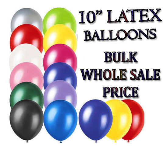 WHOLESALE ALL BALLOON 100-5000 10  Latex LARGE High Quality Any Occasions Ballon