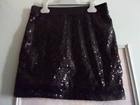 Jupe Femme Fantaisie Sequins One By Gemo T S (èlastique) Neuf