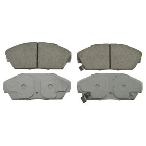 Disc Brake Pad Set-ThermoQuiet Disc Brake Pad Front Wagner QC409
