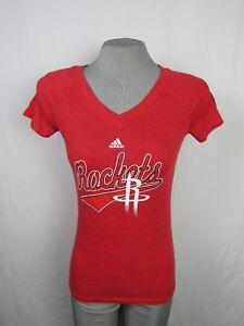 Houston Rockets NBA Adidas Women's Short Sleeve T-Shirt