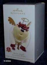 2012 Hallmark ME NO ANGEL! Looney Tunes TAZ Tasmanian Devil Keepsake Ornament