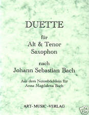 DUETTE ALTSAXOPHON /& TENORSAXOPHON /> J.HAYDN NOTEN