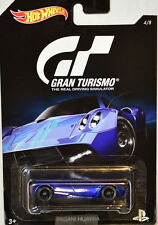 HOT WHEELS 2016 GRAN TURISMO PAGANI HUAYRA #4/8 BLACK RIMS CUSTOM MADE