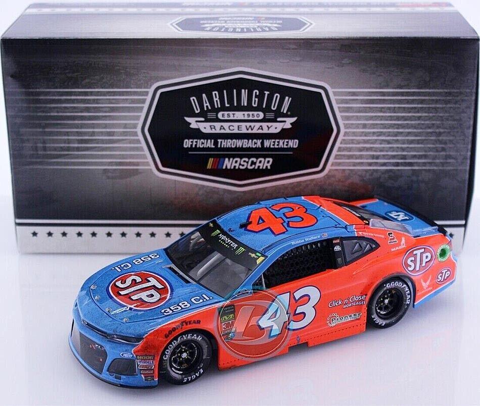 43 RPM Chevy NASCAR 2018  STP Darlington SPECIAL  Darrell Wallace Jr. 1 24