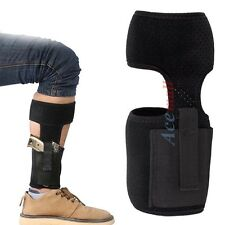 Ankle Holster Concealed Carry Gun Holster w/ Mag Pouch for Pistol Men Women