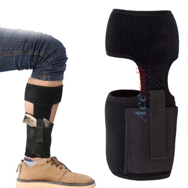 Ankle Holster Concealed Carry Gun Holster w// Magazine Pouch for Pistol Men Women