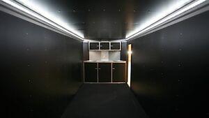 rac car trailer interior lighting kit 300 cree style led lights 12vdc part ebay. Black Bedroom Furniture Sets. Home Design Ideas