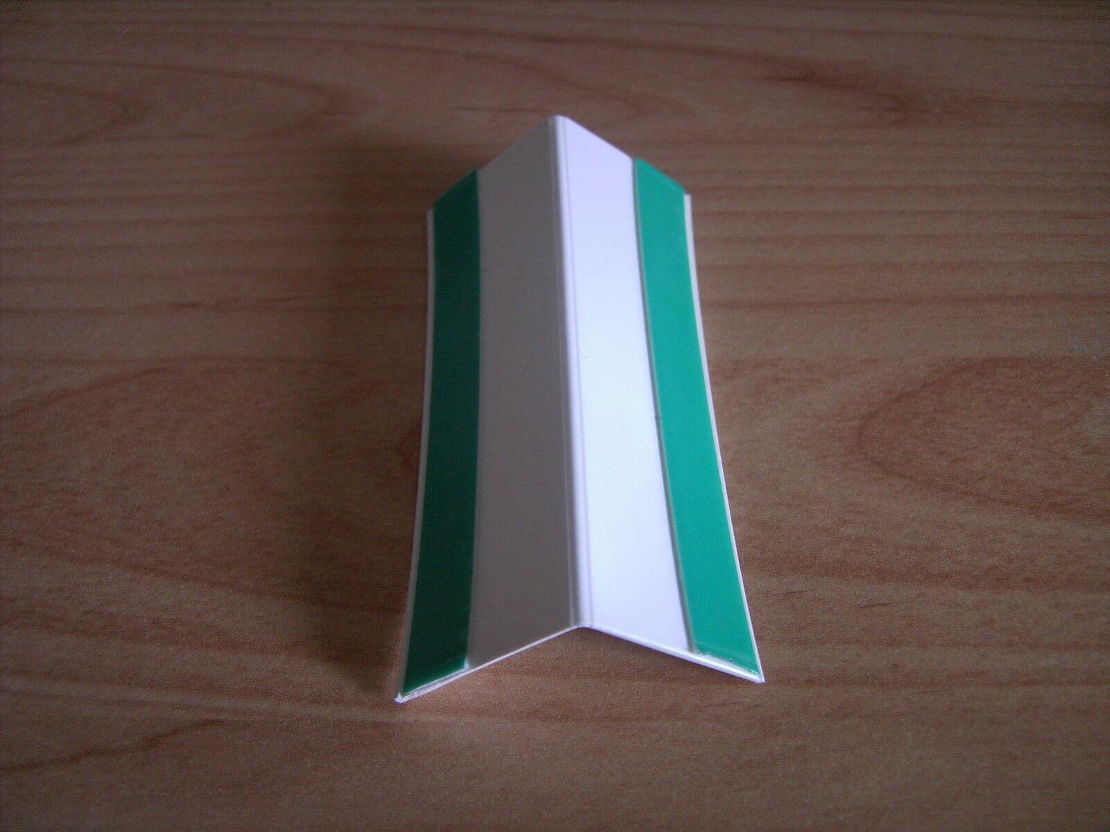 PVC Klappwinkel 30 x 30mm Rolle 50m