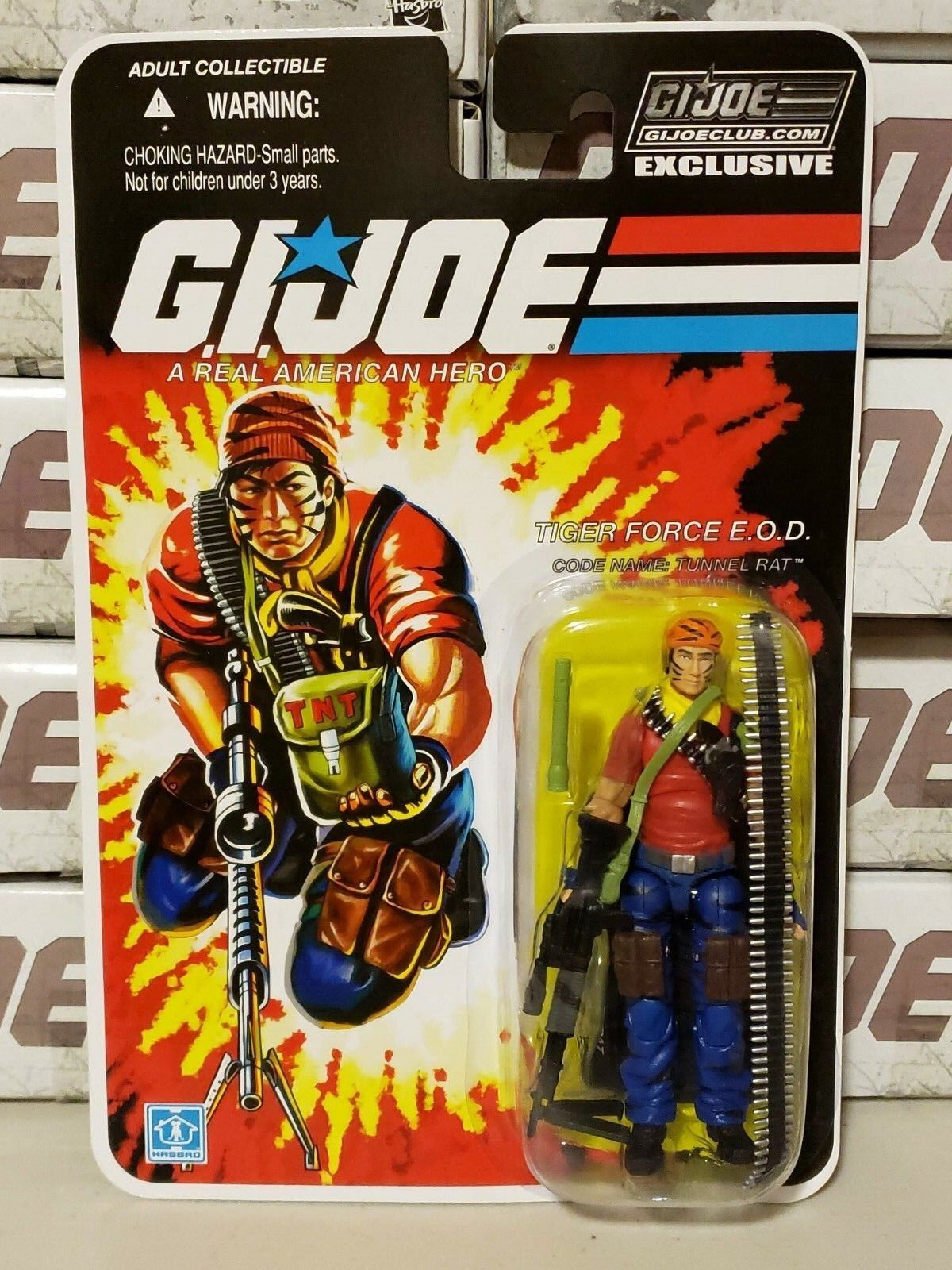 GI Joe Collector's Club FINAL 12 Tiger Force Tunnel Rat NEW SEALED