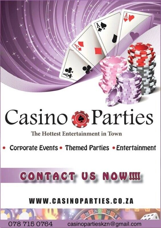 AWESOME, ENTERTAINING THEMED EVENTS BY CASINO PARTIES KZN Roulette Blackjack Poker