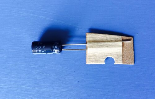 NRSA100M50V5X11 NIC CAPACITOR ALUMINUM ELECTROLYTIC 10UF 50V RADIAL 5X11mm