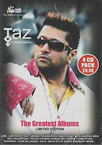 THE-GREATEST-ALBUMS-LIMITED-EDITION-TAZ-OF-STEREO-NATION-BRAND-NEW-4-CD-PACK