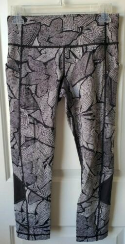 Lululemon Pace Rival Crops, Dottie Tribe Print, Si