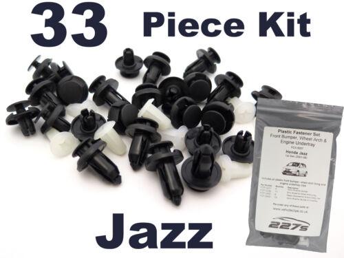 Arch /& Mayorista Clip Set Moldura De Plástico Clip Kit para Honda Jazz-tope de rueda