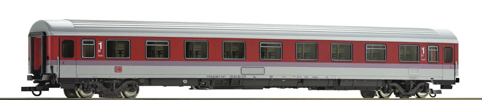 ROCO 64931 1 87 treno rapido carro, carro, carro, 1. classe Avmz 108.1 della DB, in orientrosso, Ep IV 4296fd