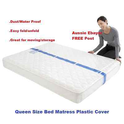Queen Size Bed Mattress Protect Plastic, Queen Size Bed Plastic Cover