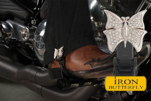 "6/"" Iron Butterfly Biker Boot Straps"
