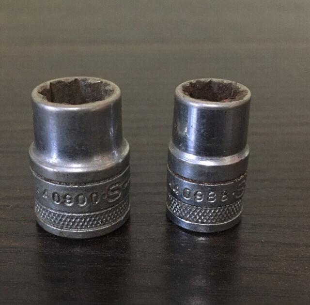 SK 1312 13-Piece 1//4-Inch Drive 6 Point Deep Metric Socket Set SK Handtools