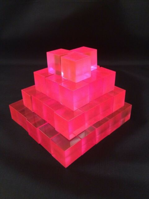 10 Anime Pink Micro Energon Cubes for Transformers Micromasters and WST