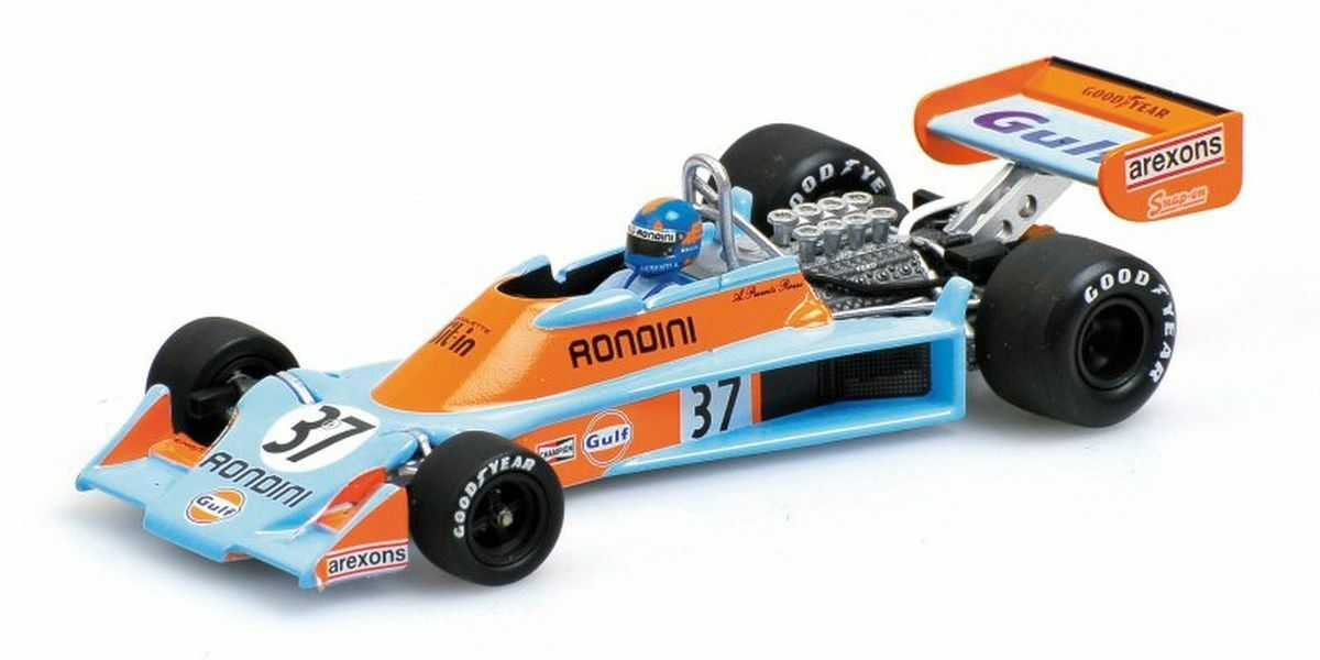 "Minichamps 1 43  400760037 Tyrrell Ford 007 ""Gulf"" – Alessandro Pesenti Rossi"