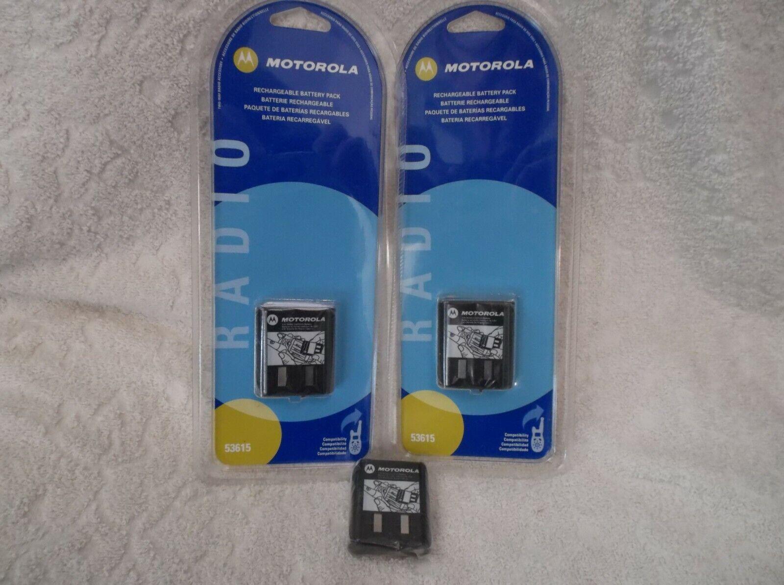 OEM Motorola 53615 TALKABOUT Rechargeable Battery 650mAh 2-Way Radios KEBT-071-D