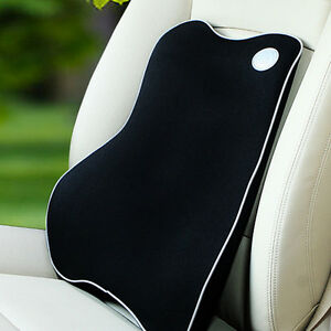 Memory Foam Lumbar Back Support Cushion Pillow Home Car Auto Office