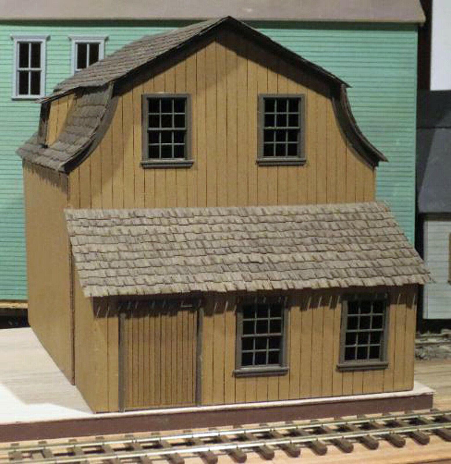 WHARF SAIL LOFT S Scale Model Railroad Unpainted Structure Laser Kit DF426S