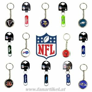 NFL-Schluesselanhaenger-Flaschenoeffner-vers-Teams-Seahawks-Patriots-49ers