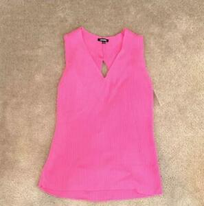 Unwine-Women-039-s-V-Neck-Sleeveless-Sweater-Pink-Size-Large-L