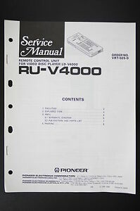 PIONEER-RU-V4000-Remote-Control-Unit-Service-Manual-WIRING-DIAGRAM-Diagram-O102