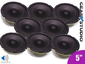 8x-HiFi-Lautsprecher-Cone-Mid-Range-Frequency-5-034-125mm-40w-8-Ohm-Lautsprecher