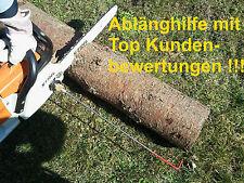 Ablänghilfe  Motorsäge 100+33+25cm für verschiedene Fabrikate ,Brennholz